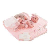 Кукла младенец Нина 42 см с одеждой и аксессуарами Antonio Juan 5095