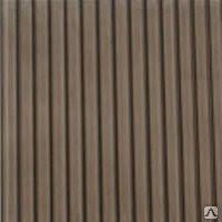 Поликарбонат 10мм(2,10х6м) ROYALPLAST бронза