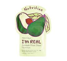 TonyMoly - I'm Real AVOCADO Mask Sheet - Nutrition Тканевая маска