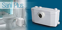 SaniPlus насос - способен откачать значительное количество сточных вод из ванной комнаты.