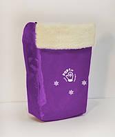 Чехол на ножки для санок PUPSik фиолетовый