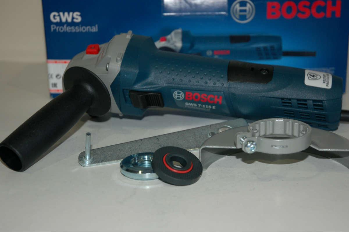 Угловая шлифмашина Bosch GWS 7-115 E, 0601388203