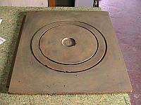 Плита чугунная однокомфорочная 360*410