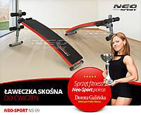 Скамья многофункциональная для тренировок Neo-Sport NS-09 S