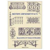Motifs ornementaux: balcons et balustrades. Декоративные орнаменты: балконы и балюстрады