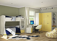 Модульная мебель для детской комнаты «Домино №2»
