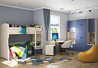 Модульная мебель для детской комнаты «Домино №1»