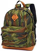 """Молодежный рюкзак с отделом для ноутбука 14,1"""", 25 л. Derby 0100560,45 камуфляж"""