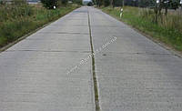 Устройство дорог из плит