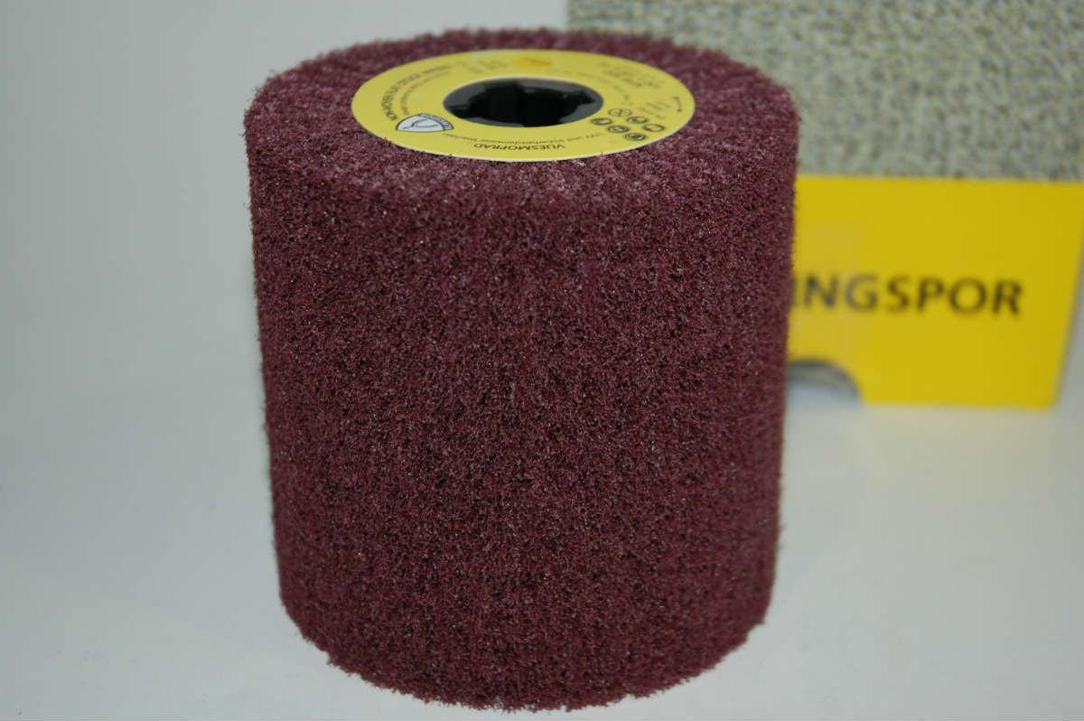 Лепестковый цилиндричный круг Klingspor NFW 600 100X100X19 coarse из нетканого материала