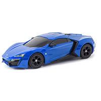 Автомодель - W MOTORS LYKAN HYPERSPORT (ассорти красный, синий, 1:26, свет, звук, инерц.)