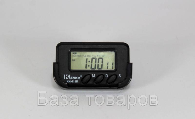 Часы автомобильные Kenko KK 613 D + секундомер, электронные универсальные часы - База товаров в Одессе