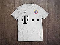 Клубная футболка Бавария, Bayern, белая, ф3560