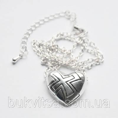 Кулон. Сердце с крестом., фото 2