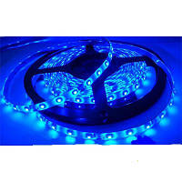 Светодиодная лента SMD 3528 на 60 диодов в 1-м метре, 4,8Вт/1м, синий цвет, герметичная, гарантия 12 месяцев