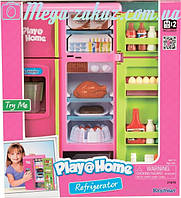 Игровой набор холодильник от Keenway: свет + звук, емкость для льда