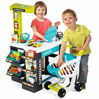 Интерактивный супермаркет с тележкой Smoby (350206)