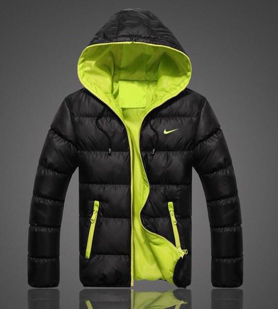 f515f0791cf1 Пуховик зимний мужской, куртка Nike, Найк, ф3648 - Футбольный супермаркет