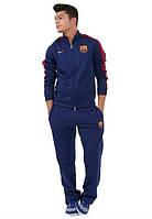 Спортивный костюм Nike-Barselona, Барселона, Найк, синий, ф562