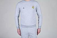 Спортивный костюм Adidas-Real Madrid, Реал Мадрид, Адидас, серый, ф776