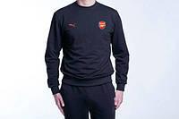 Спортивный костюм Puma-Arsenal, Арсенал, Пума, черный, ф799