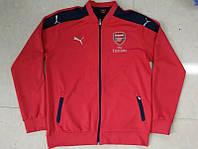 Спортивная олимпийка (кофта) Arsenal-Puma, Арсенал, Пума, красная, ф3658