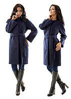Пальто элегантное кашемировое  межсезонное