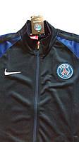 Спортивная олимпийка (кофта) ПСЖ-Найк,  PCG, Nike, черная, ф3676