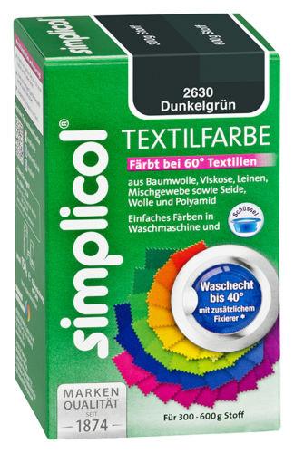 Краска Simplicol для смены цвета 150г темно-зеленая