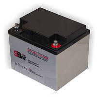 Гелевая (GEL) аккумуляторная батарея SBat 12V 40Ah