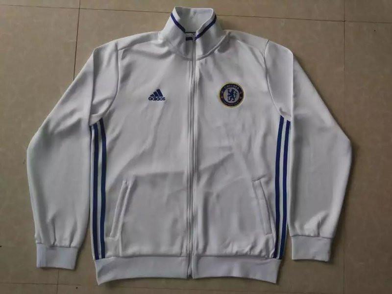 420c2de0866a Спортивная олимпийка (кофта) Челси-Адидас, Chelsea-Adidas, белая, ф3689