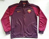 Спортивная олимпийка (кофта) Roma-Nike, Рома, Найк, фиолетовый, ф3686
