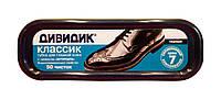 Губка Дивидик Классик для гладкой кожи черная - 1 шт.