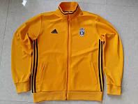 Спортивная олимпийка (кофта) Ювентус-Адидас, Juventus-Adidas, желтая, ф3690