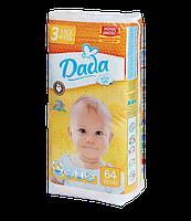 Подгузники Dada Extra Soft 3 Midi (4-9 кг) 64 шт.