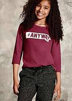 Реглан футболка детский Pepperts на девочку рост 134 140, фото 1