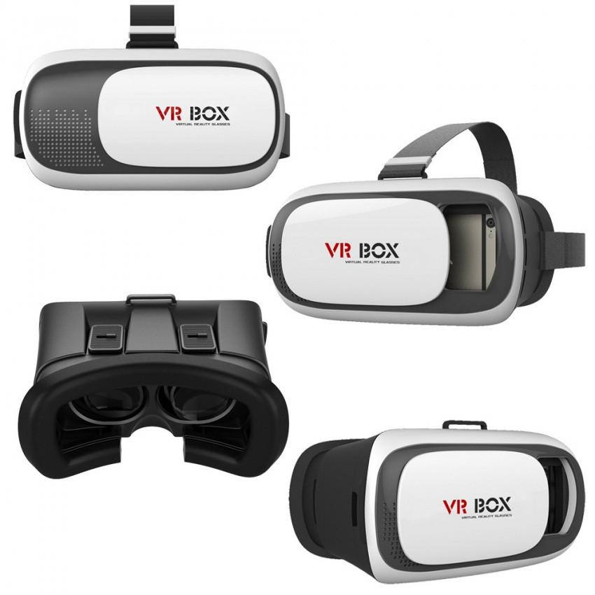 Очки 3D виртуальной реальности Google VR BOX из пластика Cardboard от 3.5  до 6 дюймов e27af40fe44cf