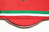 ТЖ 30мм (50м) зеленый+красный+белый , фото 1