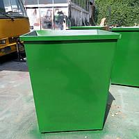 Контейнеры мусорные без крышки 0,7 м.куб. (2мм), доставка по Украине