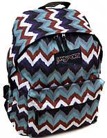 Стильный городской рюкзак нейлон Jansport  3334-9062-2 3d, 28 л, цветной
