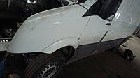 Крило переднє Крыло белое Фольксваген Крафтер 2006-2012 VW Crafter