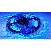 Светодиодная лента SMD 3528 на 120 диодов в 1-м метре, 9,6Вт/1м, синий цвет, не герметичная