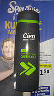 Мужской гель для душа Бодрящая свежесть Cien Men 2 in 1 Green Kick 300 мл.