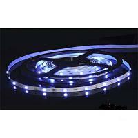 Светодиодная лента SMD 5050 на 30 диодов в 1-м метре, 7,2Вт/1м, белый холодный цвет,не герметичная