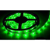 Светодиодная лента SMD 5050 на 30 диодов в 1-м метре, 7,2Вт/1м, зеленый цвет, герметичная