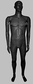 Манекен объемный мужской Сен-сей черный