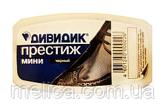 Губка для обуви Дивидик Престиж мини черная - 1 шт.