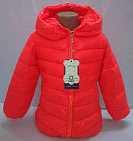 Куртка демисезонная ярко-розовая р.104, 110, 116