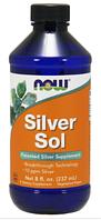 Коллоидное Серебро, Now Foods, Silver Sol, Liquid Spray, 237 мл