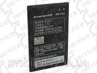 Аккумулятор на Lenovo BL203, 1500mAh A269/ A278T/ A300/ A308/ A316/ A318/ A356E/ A369/ A369i/ A66